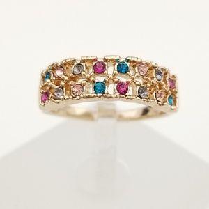 18k Pastel Ring